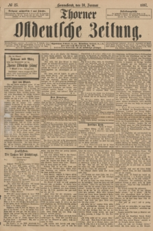Thorner Ostdeutsche Zeitung. 1897, № 25 (30 Januar)