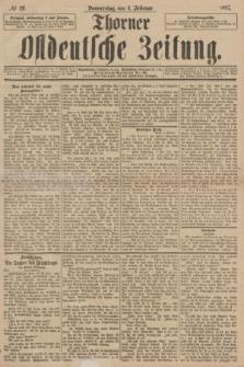 Thorner Ostdeutsche Zeitung. 1897, № 29 (4 Februar)