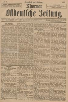 Thorner Ostdeutsche Zeitung. 1897, № 31 (6 Februar)