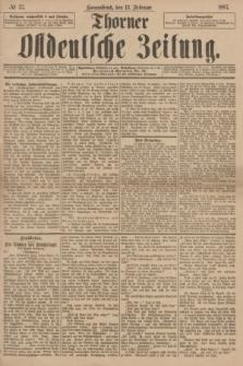 Thorner Ostdeutsche Zeitung. 1897, № 37 (13 Februar)