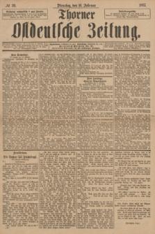 Thorner Ostdeutsche Zeitung. 1897, № 39 (16 Februar)