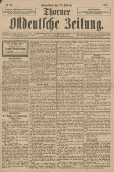 Thorner Ostdeutsche Zeitung. 1897, № 49 (27 Februar)