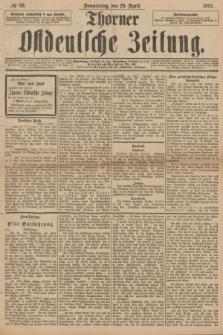 Thorner Ostdeutsche Zeitung. 1897, № 99 (29 April)
