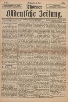 Thorner Ostdeutsche Zeitung. 1897, № 158 (9 Juli) + dod.