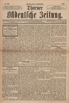 Thorner Ostdeutsche Zeitung. 1897, № 206 (3 September)