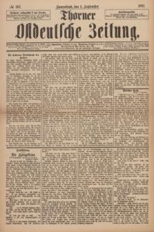 Thorner Ostdeutsche Zeitung. 1897, № 207 (4 September)