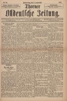 Thorner Ostdeutsche Zeitung. 1897, № 211 (9 September)