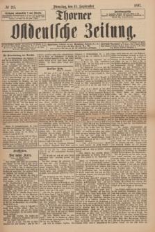 Thorner Ostdeutsche Zeitung. 1897, № 215 (14 September)