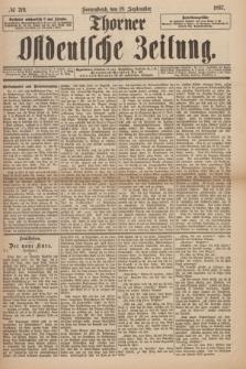 Thorner Ostdeutsche Zeitung. 1897, № 219 (18 September)