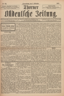 Thorner Ostdeutsche Zeitung. 1897, № 231 (2 Oktober) + dod.