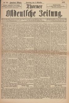Thorner Ostdeutsche Zeitung. 1897, № 232 (3 Oktober) - Zweites Blatt