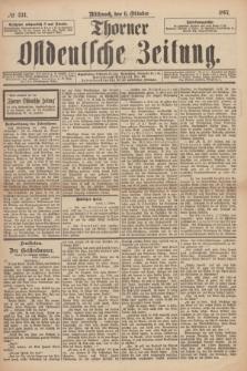 Thorner Ostdeutsche Zeitung. 1897, № 234 (6 Oktober) + dod.