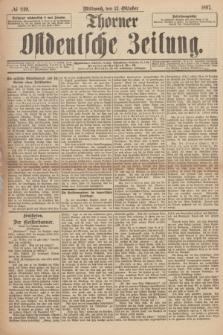Thorner Ostdeutsche Zeitung. 1897, № 240 (13 Oktober)