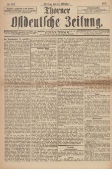 Thorner Ostdeutsche Zeitung. 1897, № 242 (15 Oktober) + dod. + wkładka