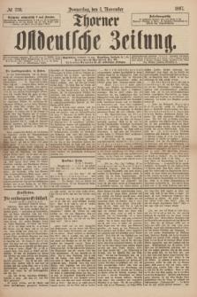 Thorner Ostdeutsche Zeitung. 1897, № 259 (4 November) + dod.
