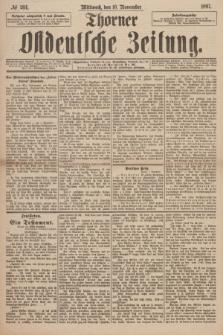 Thorner Ostdeutsche Zeitung. 1897, № 264 (10 November) + dod.
