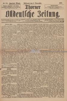 Thorner Ostdeutsche Zeitung. 1897, № 270 (17 November) - Zweites Blatt