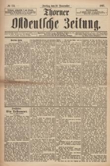 Thorner Ostdeutsche Zeitung. 1897, № 271 (19 November)