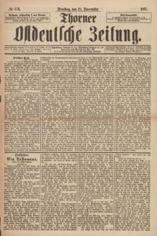 Thorner Ostdeutsche Zeitung. 1897, № 274 (23 November)
