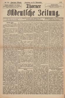 Thorner Ostdeutsche Zeitung. 1897, № 279 (28 November) - Zweites Blatt