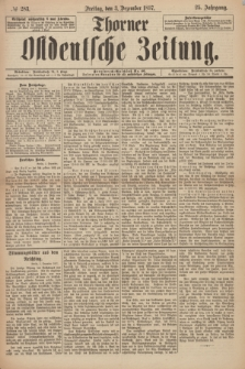 Thorner Ostdeutsche Zeitung. Jg. 25, № 283 (3 Dezember 1897) + dod.