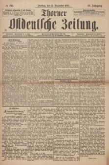Thorner Ostdeutsche Zeitung. Jg. 25, № 295 (17 December 1897) + dod. + wkładka