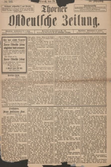 Thorner Ostdeutsche Zeitung. Jg. 25, № 304 (29 Dezember 1897)