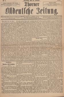 Thorner Ostdeutsche Zeitung. 1893, № 8 (10 Januar)