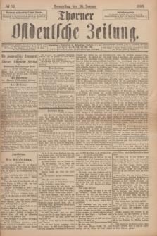 Thorner Ostdeutsche Zeitung. 1893, № 22 (26 Januar)