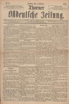 Thorner Ostdeutsche Zeitung. 1893, № 29 (3 Februar)