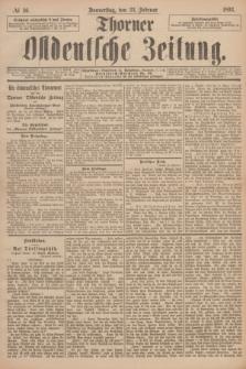 Thorner Ostdeutsche Zeitung. 1893, № 46 (23 Februar)