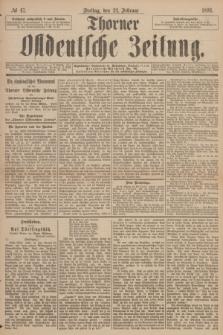 Thorner Ostdeutsche Zeitung. 1893, № 47 (24 Februar)