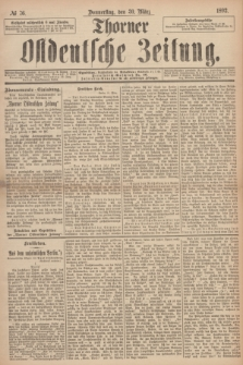 Thorner Ostdeutsche Zeitung. 1893, № 76 (30 März) + dod.