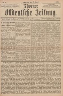 Thorner Ostdeutsche Zeitung. 1893, № 98 (27 April) + dod.