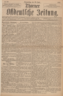 Thorner Ostdeutsche Zeitung. 1893, № 150 (29 Juni)