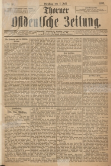 Thorner Ostdeutsche Zeitung. 1893, № 154 (4 Juli)