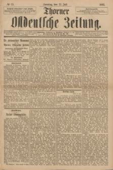 Thorner Ostdeutsche Zeitung. 1893, № 171 (23 Juli) + dod.