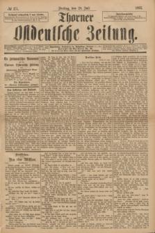 Thorner Ostdeutsche Zeitung. 1893, № 175 (28 Juli)