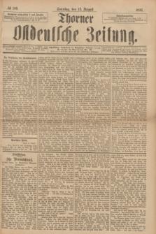 Thorner Ostdeutsche Zeitung. 1893, № 189 (13 August) + dod.