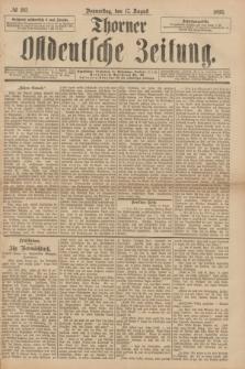 Thorner Ostdeutsche Zeitung. 1893, № 192 (17 August)