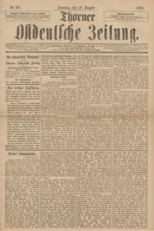 Thorner Ostdeutsche Zeitung. 1893, № 201 (27 August)