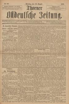 Thorner Ostdeutsche Zeitung. 1893, № 202 (29 August)