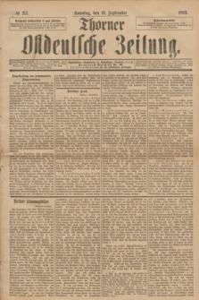 Thorner Ostdeutsche Zeitung. 1893, № 213 (10 September)