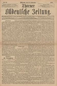 Thorner Ostdeutsche Zeitung. 1893, № 215 (13 September)