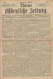Thorner Ostdeutsche Zeitung. 1893, № 231 (1 Oktober) + dod.