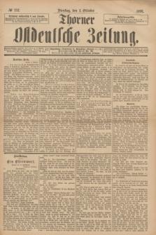 Thorner Ostdeutsche Zeitung. 1893, № 232 (3 Oktober)