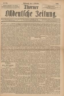 Thorner Ostdeutsche Zeitung. 1893, № 233 (4 Oktober)