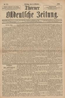 Thorner Ostdeutsche Zeitung. 1893, № 235 (6 Oktober)