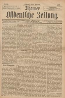 Thorner Ostdeutsche Zeitung. 1893, № 237 (8 Oktober) + dod.