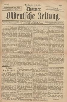 Thorner Ostdeutsche Zeitung. 1893, № 238 (10 Oktober)